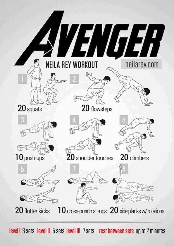 avengers-work-out