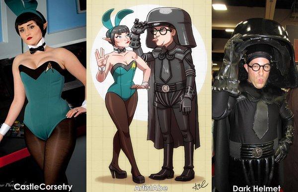castle_corsetry_and_dark_helmet_cosplay_by_artistabe-d7bzttk