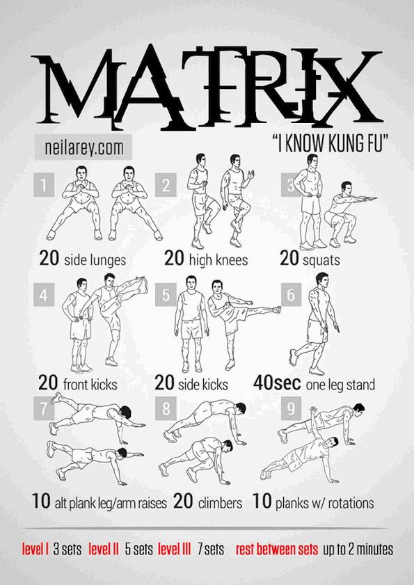 matrix-work-out