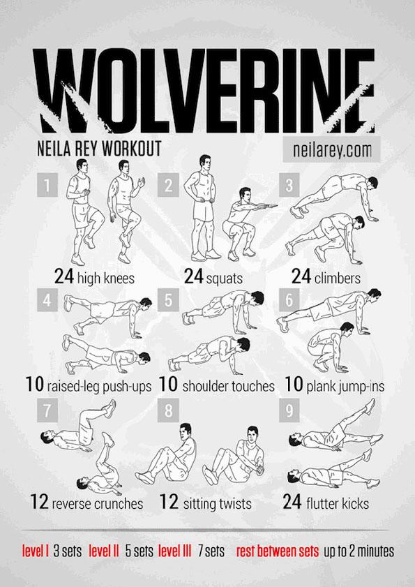 worlverine-work-out