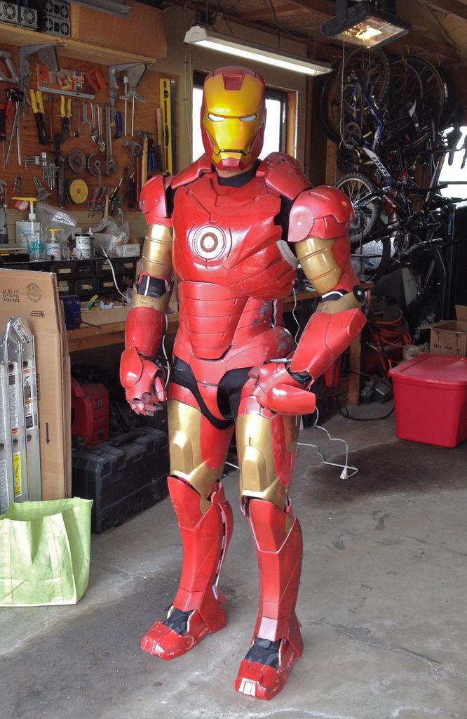 Ontzettend Gave Iron Man Kostuum We Zijn Jaloers Geek
