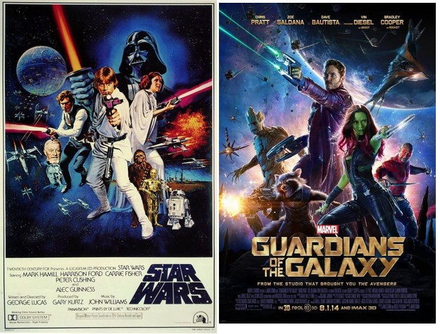 guardians of galaxy vs star wars STAR WARS GoG STYLE