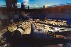 milenium falcon stationairy