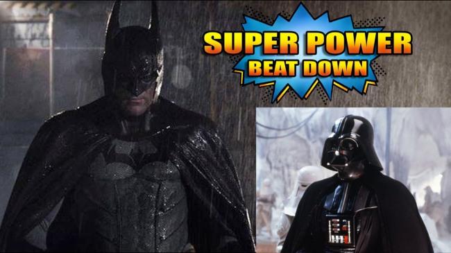 batman vs darth
