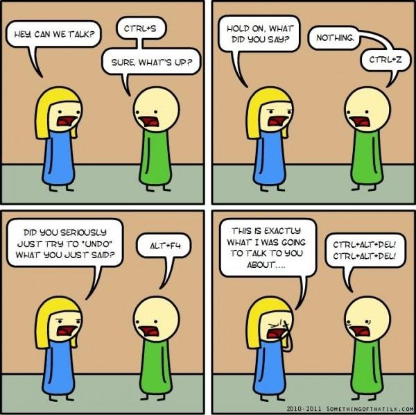 funny Geek Relationship Between Boy and Girl