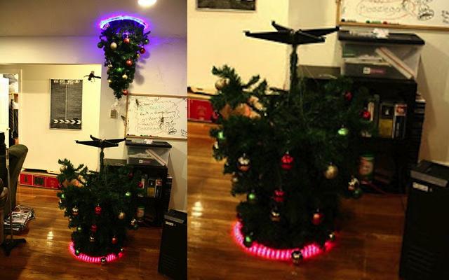 portal-themed-christmas-tree