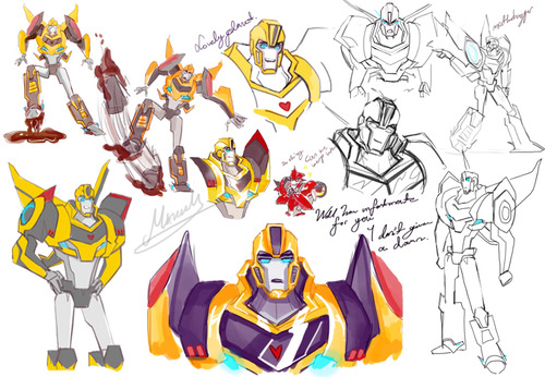 TransformersRID-BumblebeeSketch