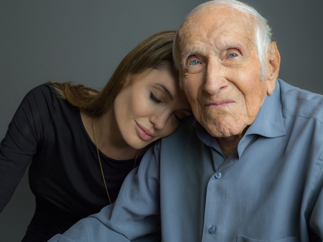 Angelina en Louis Zamperini