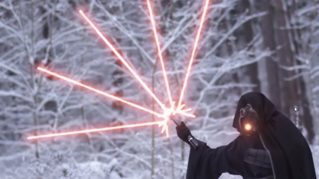 crazy lightsaber